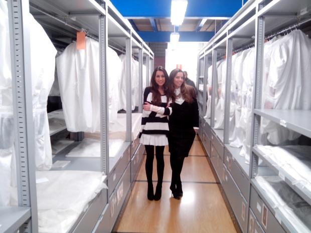 Almacenes del Museo del Traje